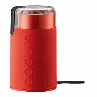 Red Bistro Electric Coffee Grinder