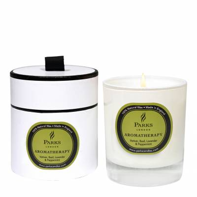 Vetiver/Basil Aromatherapy Candle