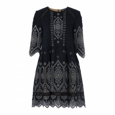 Josephine Broderie Anglaise Lace Cotton Dress