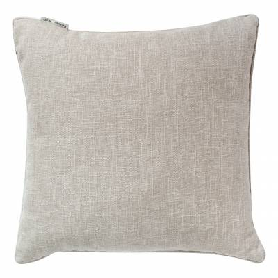 Natural Textured Piped Cushion  45 x 45cm