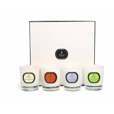 Set Of Four Candles Luxury Gift Set Selection Two
