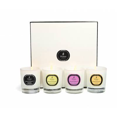Set Of Four Candles Luxury Gift Set Selection Three