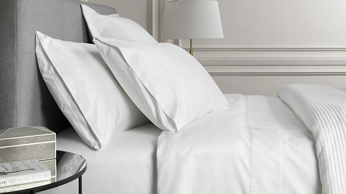 Sheridan 1000 Thread Count Linens Discover supreme quality in the form of Sheridan's 1000 thread count linens, featuring duvet sets, sheets and pillowcases in cool, neutral tones.