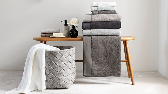 Sheridan Towels Choose from absorbent Egyptian cotton and textured waffle towels in this bathroom edit from luxury brand Sheridan.