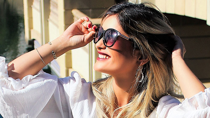 Luxe Eyewear for Her When it comes to luxe eyewear, it's got to be designer. Shop women's sunglasses from Michael Kors, Alexander McQueen, Chloe and Tom Ford.