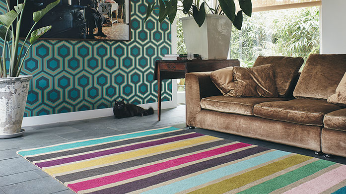 Brink & Campman Rugs An eclectic selection of statement floor rugs from Brink & Campman to elevate up a tired home. Each design is bold, bright and beautiful!