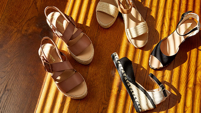 Espadrille Clearance No summer outfit is complete without a pair of fabulous, designer espadrilles. Choose yours from this luxe edit of flats and wedges.