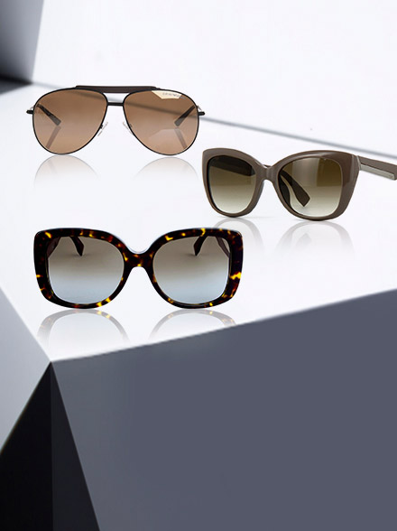 Fendi and Armani Sunglasses