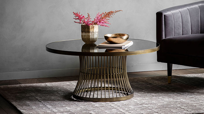 Accent Furniture by Gallery Add some stylish accent furniture to your home from Gallery's collection of side tables, console tables, display units and cabinets.