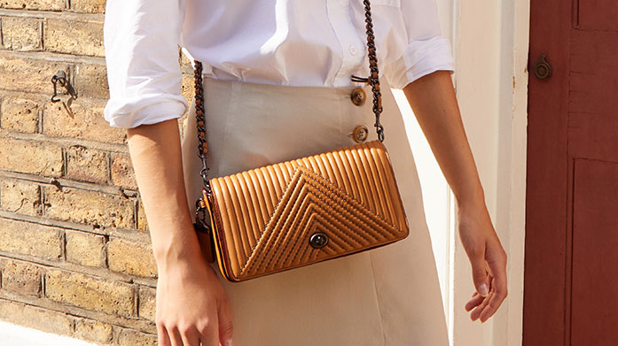 Bags for Sunshine Strolls Take a stroll outside in the sunshine wearing one of these stylish bags from DKNY, Hunter, Mango and Aspinal of London.