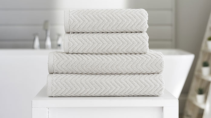 Deyongs Towels Deyong's bathroom towel ranges are well known for their quality, elegance and heritage. Choose from stripes, waffles and marl effect ranges.