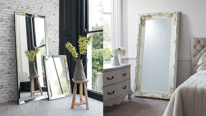 Gallery Mirrors This decorative range of mirrors from Gallery includes everything from classically ornate to modern artistic shapes, perfect for a feature wall.