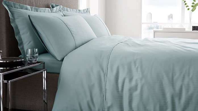 Luxe Linens The best luxury linens to transform your sleeping experience, featuring duvet sets, sheets and pillowcases in a soft colour palette.