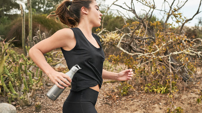S'ip by S'well Head on your run in the park or complete your at-home workout with a reusable insulated stainless steel water bottle from S'ip by S'well!