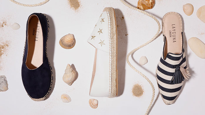 Absolutely Fabulous Espadrilles Just in time for the height of summer, these absolutely fabulous espadrilles by Carvela, Havaianas and Laycuna London will elevate any outfit.