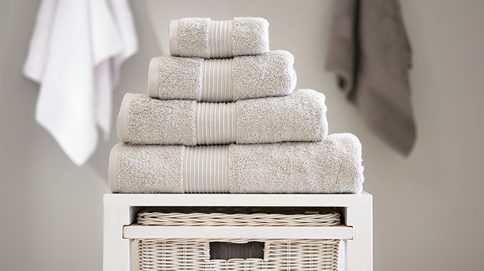 Bliss Towels This luxurious collection of Bliss bathroom towels are crafted from the highest quality cotton to provide wonderful softness and absorbency.
