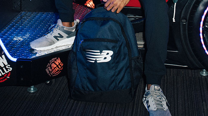 New Balance Accessories Show bags of style on the go with stylish New Balance accessories including holdalls, rucksacks and hats.
