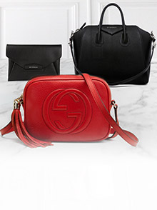 Gucci and Givenchy Bags