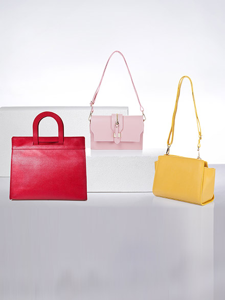 Summer Brights Leather Bags