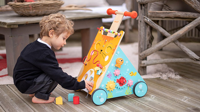 Janod Choose traditional wooden toys and games for your children from French brand, Janod. There's hours of fun ahead!