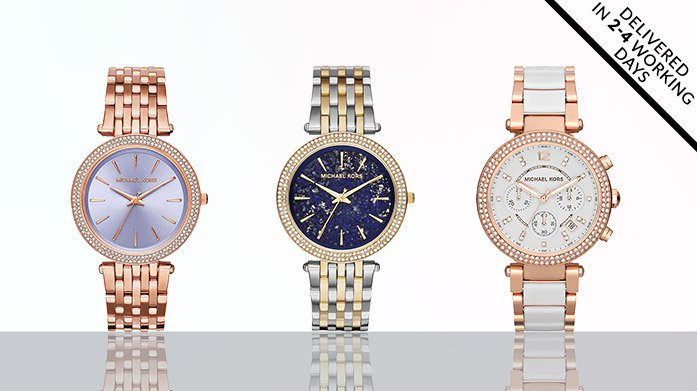 Michael Kors and Daniel Wellingtons Watches