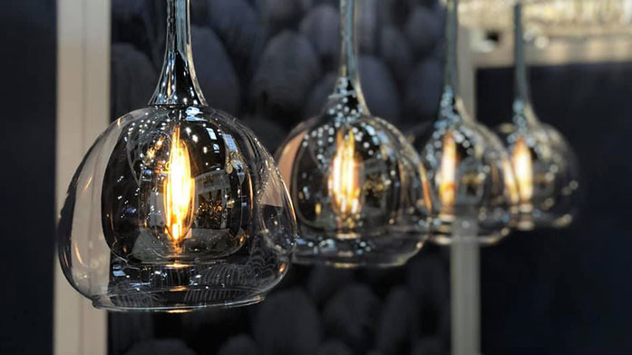 Serene Lighting Discover our selection of contemporary lighting from this collection of luxe pendant lights, table lamps and chandeliers from Serene Lighting.