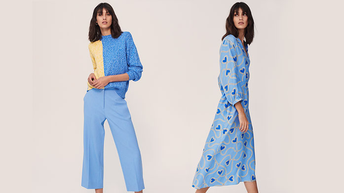 New In: Chinti & Parker Our new edit from Chinti & Parker features printed jumpsuits, midi dresses and lightweight cashmere knits in a range of vibrant, playful designs. Knitwear from £79.