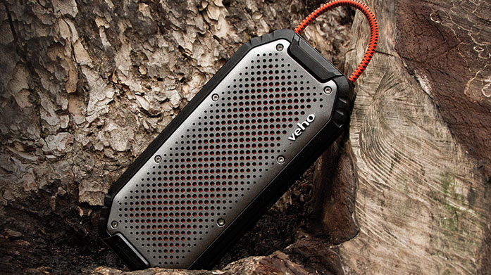 Veho Speaker The MX-1 water-reistant wireless speaker from Veho was designed for the outdoors lifestyle... Play your music on the go and discover now.