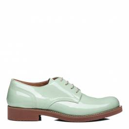009bd0379eef Women s Patent Green Leather Albany Oxford Brogue - BrandAlley