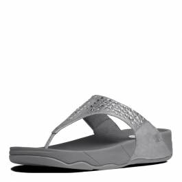 996017d3fbb2f Womens Pewter Novy Toe Post Sandals - BrandAlley