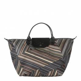 2ab3e8a2528 Khaki Op Art Top Handle Bag - BrandAlley