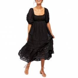 black lets be friends midi dress  brandalley