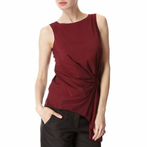Leon Max Collection DRAPED BLOUSE