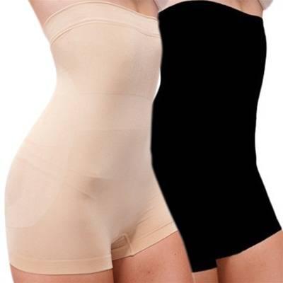 e49a6e6d41 Set of Two Black Nude High Waisted Shapewear Briefs - BrandAlley