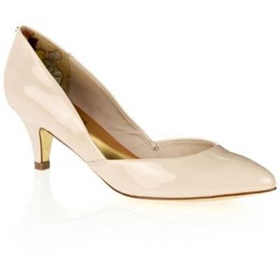 7d12734732d26 Women's Nude Patent Leather Harrisia Shoes 4cm Heel - BrandAlley