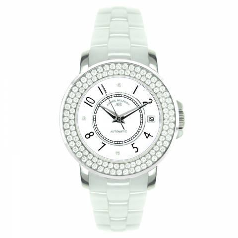 Andre Belfort Women's White/Silver Diamond Aphrodite Watch
