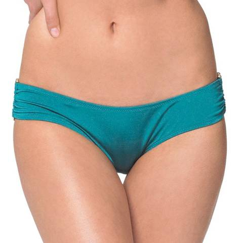 Heidi Klein Turquoise Costa Rica Bikini Briefs