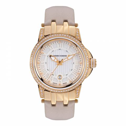 Chrono Diamond Women's Gold Dionne Watch