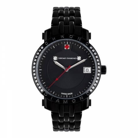 Chrono Diamond Women's Black Diamond Nesta Watch