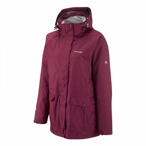Craghoppers Women's Dark Cerise Madigan II Jacket