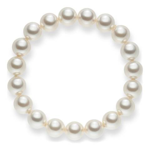 Nova Pearls Copenhagen White Pearl Bracelet 10mm