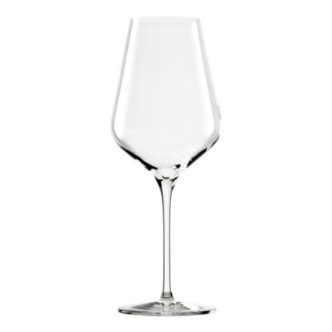 Stolzle Set of 6 Quatrophil Crystal Red Wine Glasses, 568ml