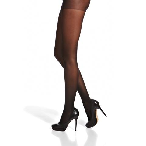 Wolford Black Miss W 40 Light Support Tights