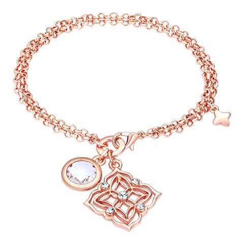 Lilly & Chloe Rose Gold Swarovski Elements Bracelet