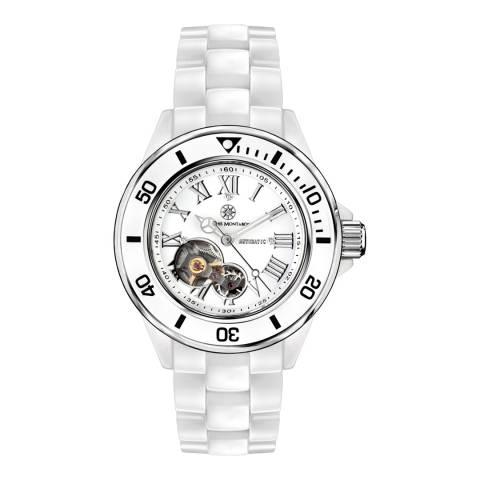 Mathis Montabon Ladies White Ceramic La Belle Watch