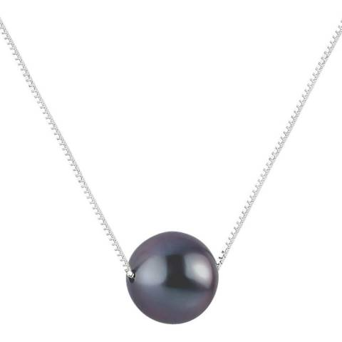 Perlinea Pearls Black Freshwater Pearl Necklace