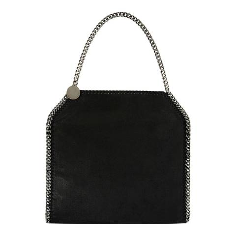 Stella McCartney Black Small Fallabella Tote Bag