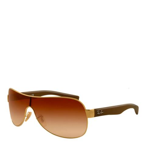 Ray-Ban Unisex Brown/Gold Emma Sunglasses 132mm