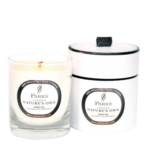 Parks London Nature's Own 1 wick Classic Candle, 200g Nordic Spa