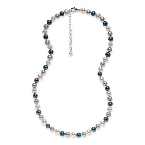 Nova Pearls Copenhagen Multicolour Freshwater Pearl Necklace
